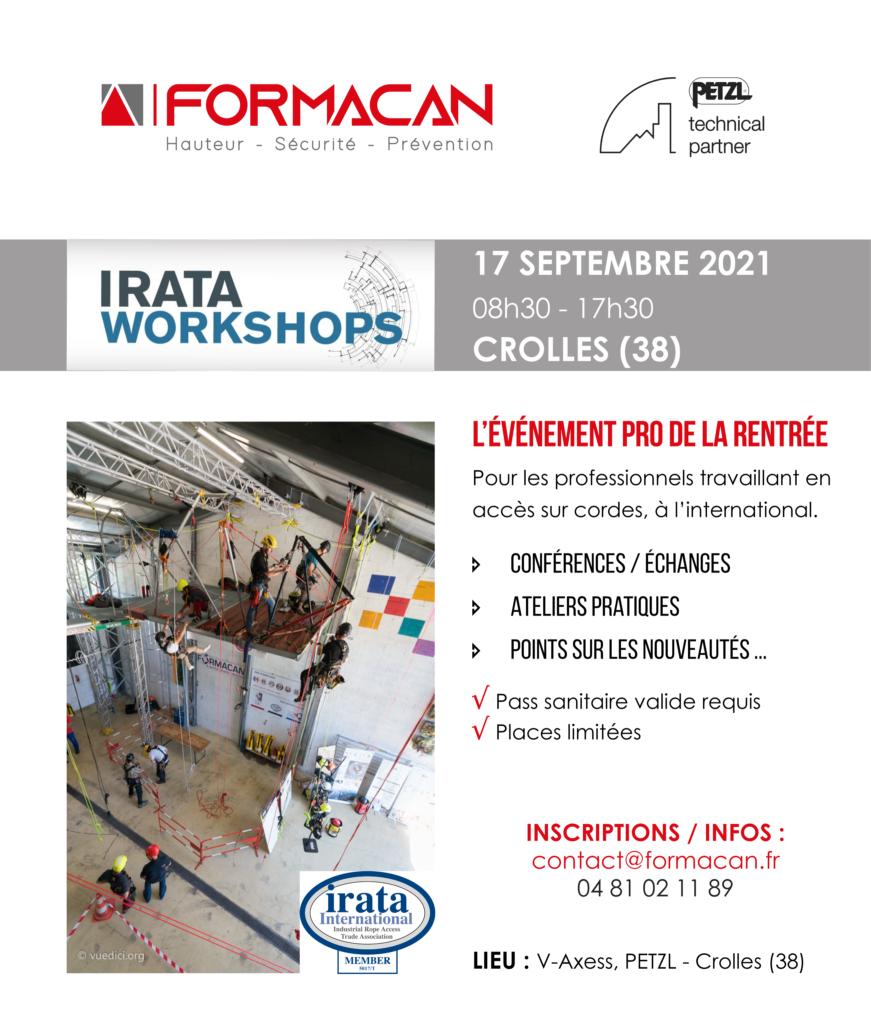 WORKSHOP FORMACAN – 3ème Edition